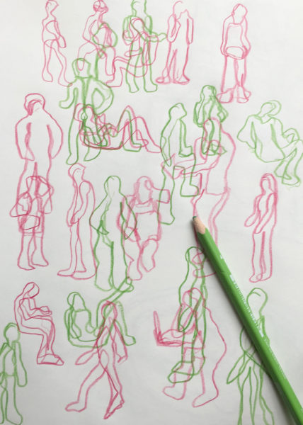 Urban Scribbles, Anya Chen
