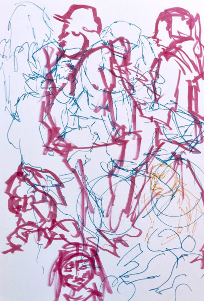 Urban Scribbles, Vivian Kong