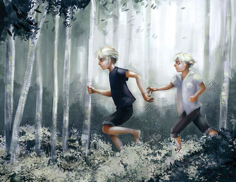 Illustration, Carrie Salazar