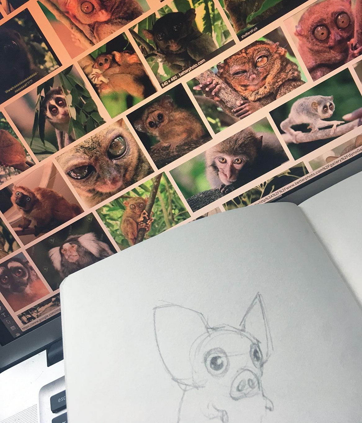 Creature Creation, Alex Rowe