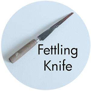 Art Supplies: Fettling Knife