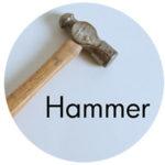 Art Supplies: Hammer
