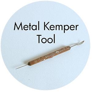 Art Supplies: Metal Kemper Tool