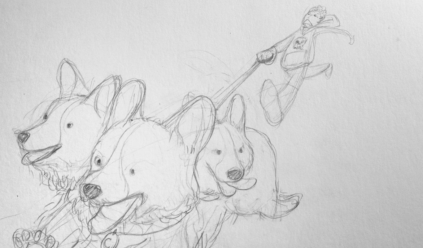 Pencil Sketch, Clarisse Angkasa