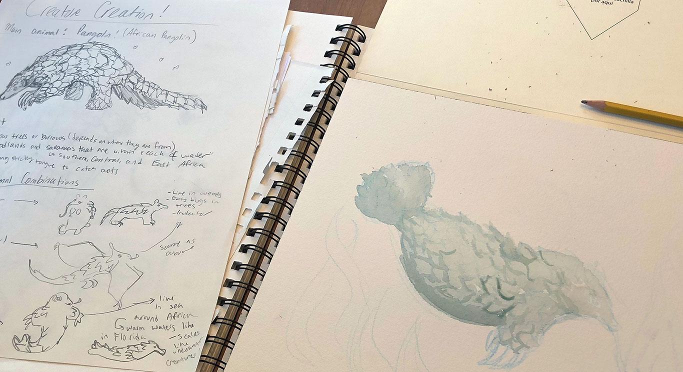 Creature Creation, Stephanie Gibadlo