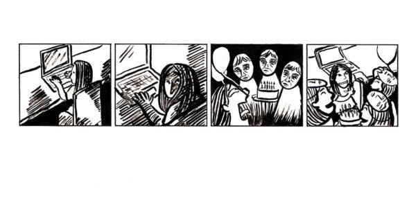 Birthday Party Comic, Clarisse Angkasa