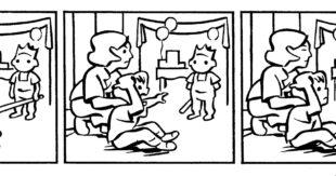 Birthday Party Comic, Casey Roonan