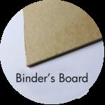 Art Supplies: Binder's Board