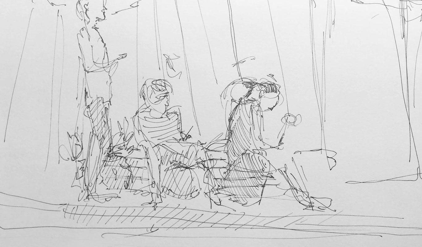 Pen Drawing, Eloise Sherrid