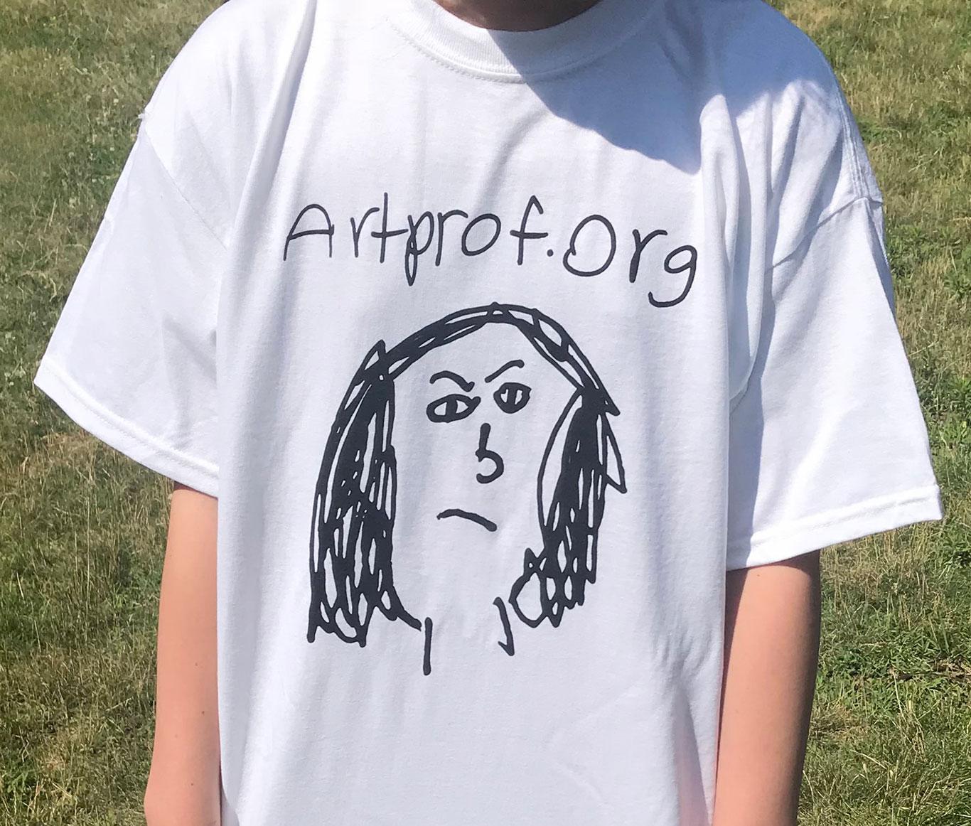 Art Prof T-shirt
