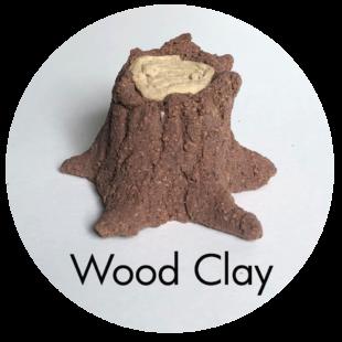 Clay House Art: Wood Clay
