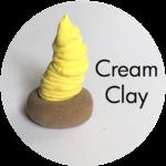 Clay House Art: Cream Clay