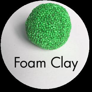 Clay House Art: Foam Clay
