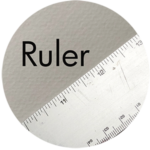 Art Supplies: Ruler
