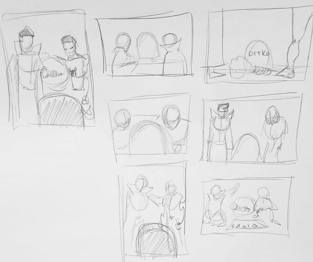 Thumbnail Sketches, Jordan McCracken-Foster
