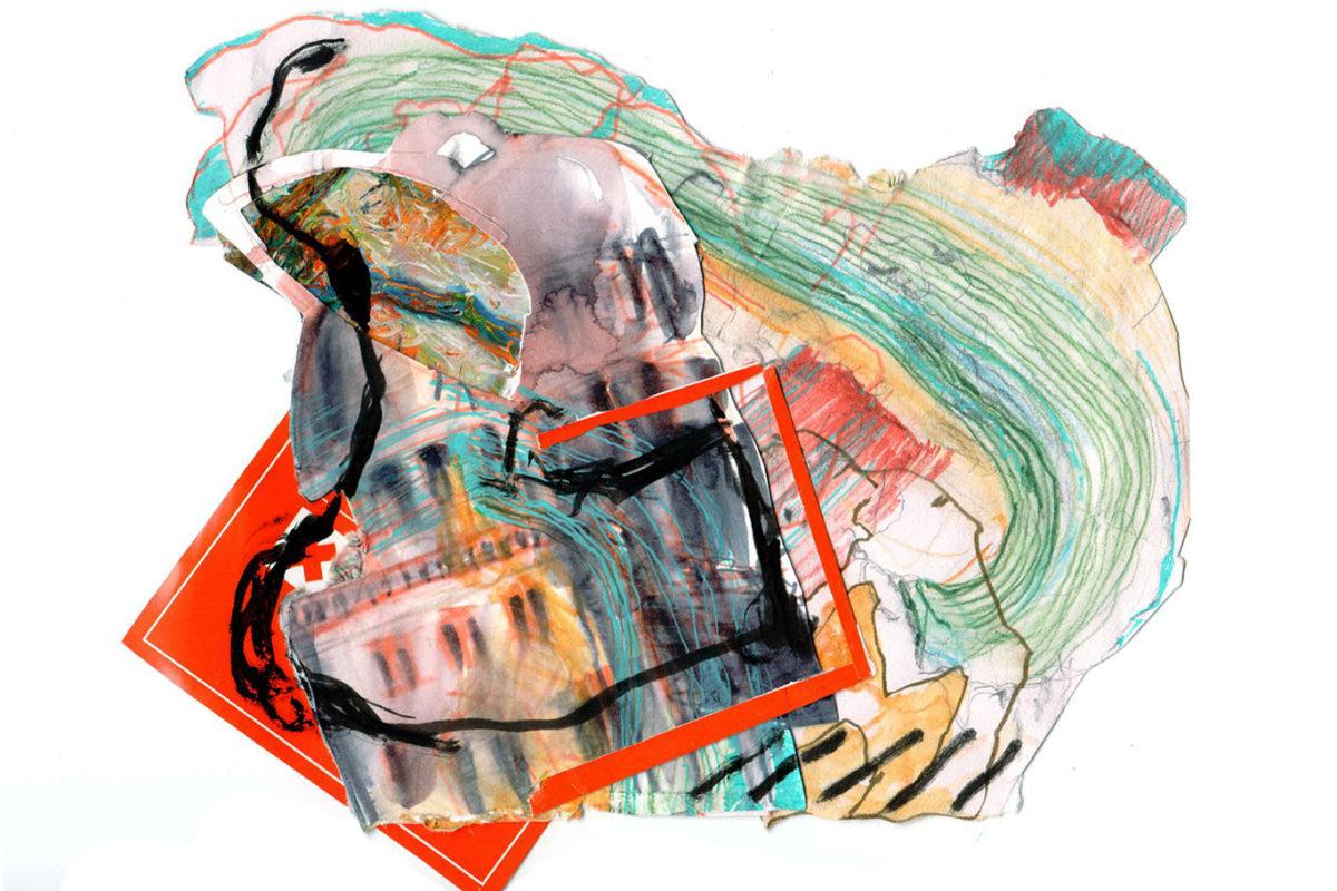 Mixed Media Collage, Eloise Sherrid