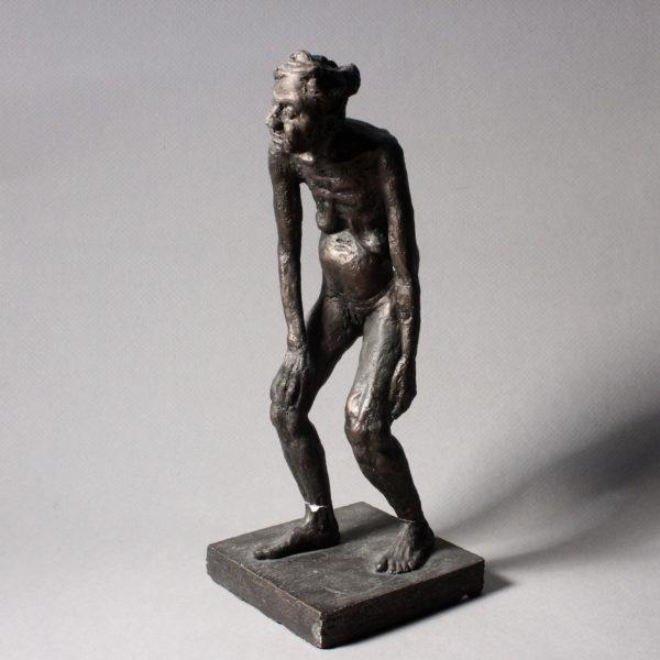Plaster Figure Sculpture, Clara Lieu