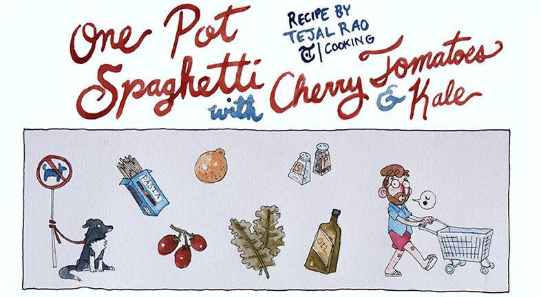 Illustrated Recipe, Alex Rowe