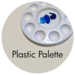 Art Supplies: Plastic Palette
