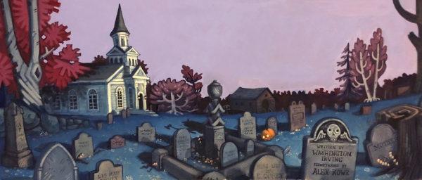 Book Illustration in Gouache,, Alex Rowe