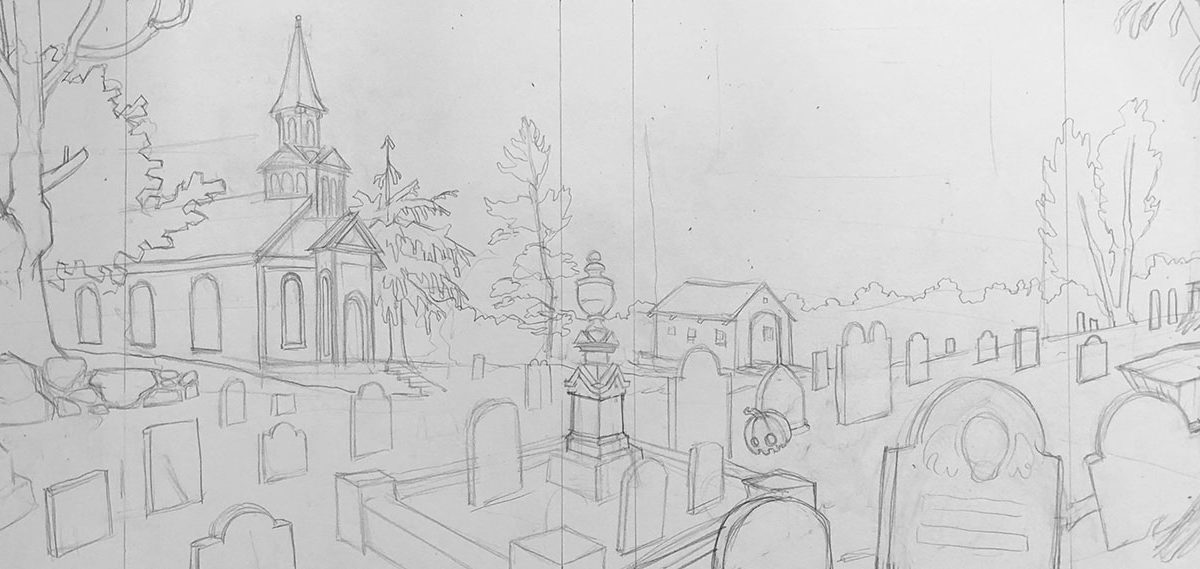 Pencil Sketch, Alex Rowe
