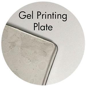 Art Supplies: Gel Printing Plate