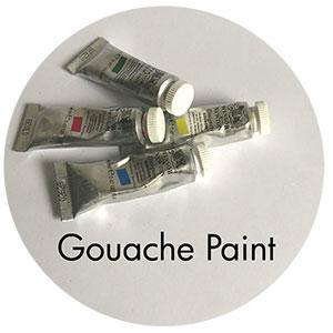Art Supplies: Gouache Paint