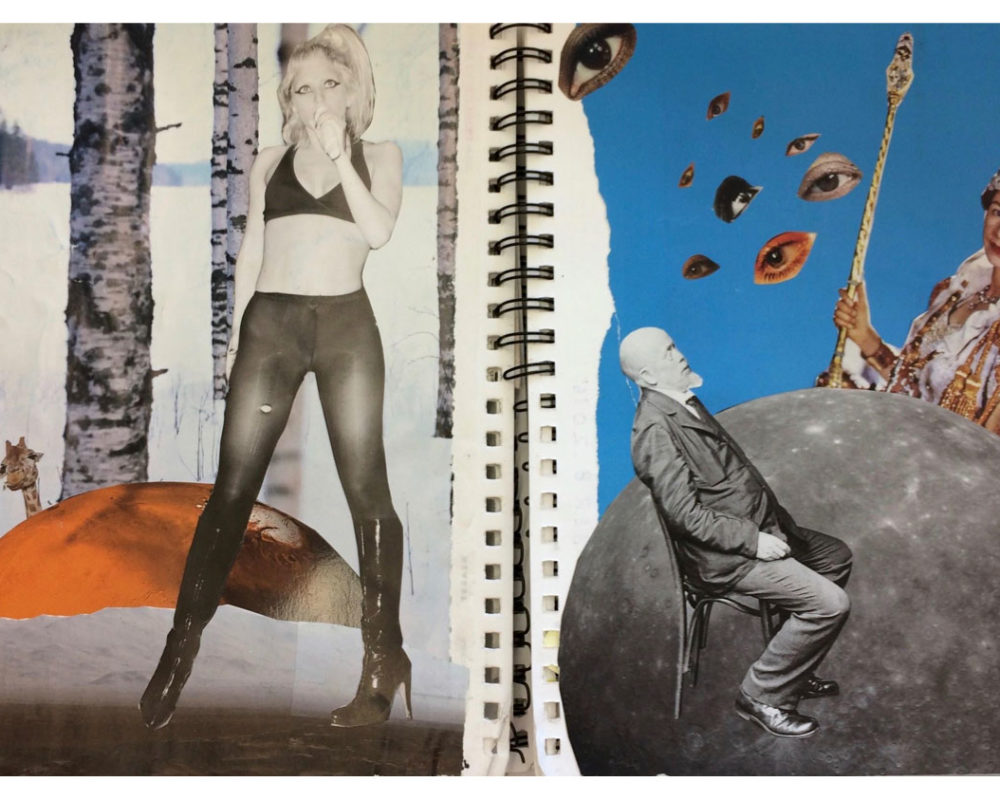 Mixed Media Collage, Neve Rechan