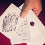 Rubber Stamp Print, Clara Lieu
