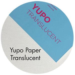 Art Supplies: Yupo Paper, Translucent