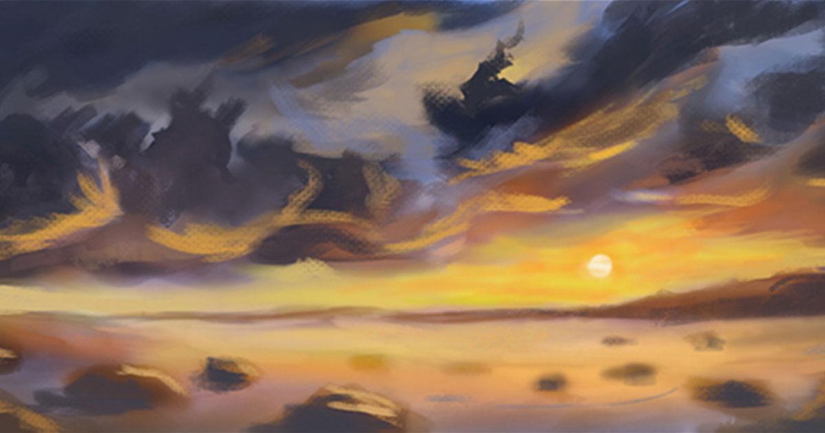 Digital Sky Painting, Jordan McCracken-Foster