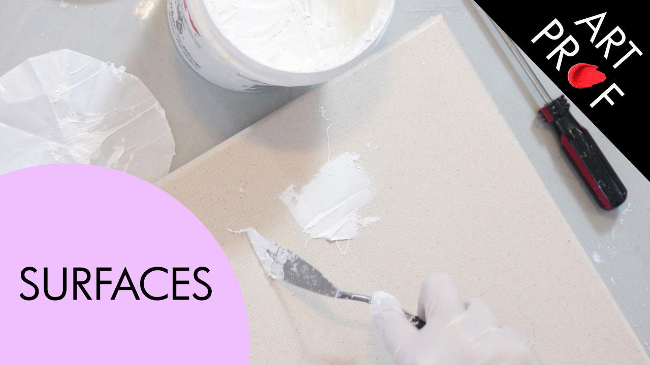 Art Supplies: Surfaces