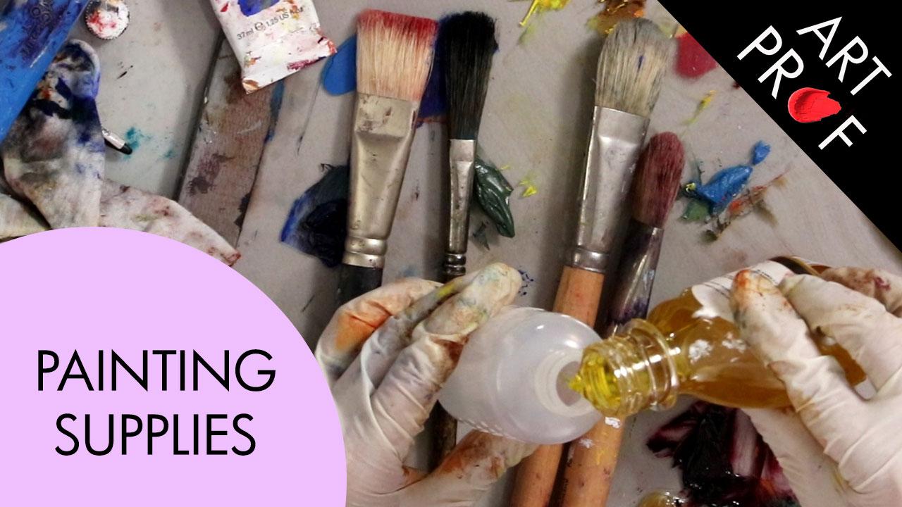 Art Supplies: Painting Supplies