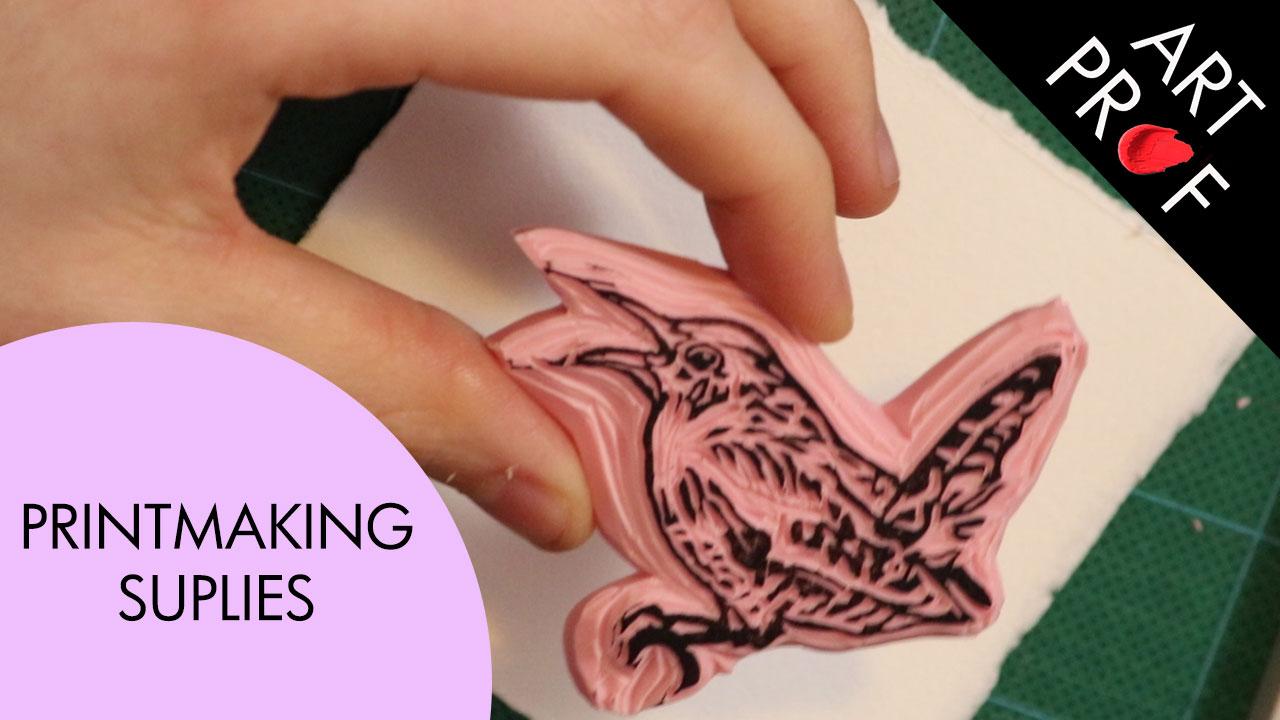 Art Supplies: Printmaking Supplies