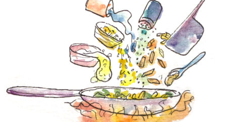 Cooking Illustration, Clarisse Angkasa