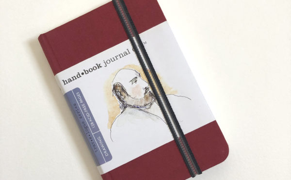Art Supplies: Speedball Travelogue Journal