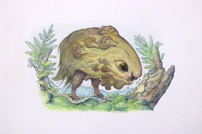 Creature Design Illustration, Julie Benbassat