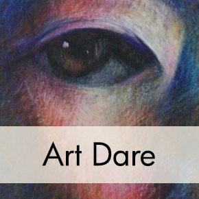Caran d'Ache Crayon Self-Portrait Drawing