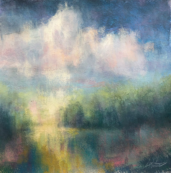 Soft Pastel Drawing, Avon Waters