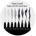 Art Supplies: Faber-Castell Artist Pitt Pens, Black