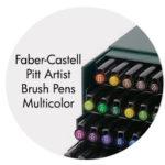 Art Supplies: Faber-Castell Pitt Artist Pens Set, Multicolor