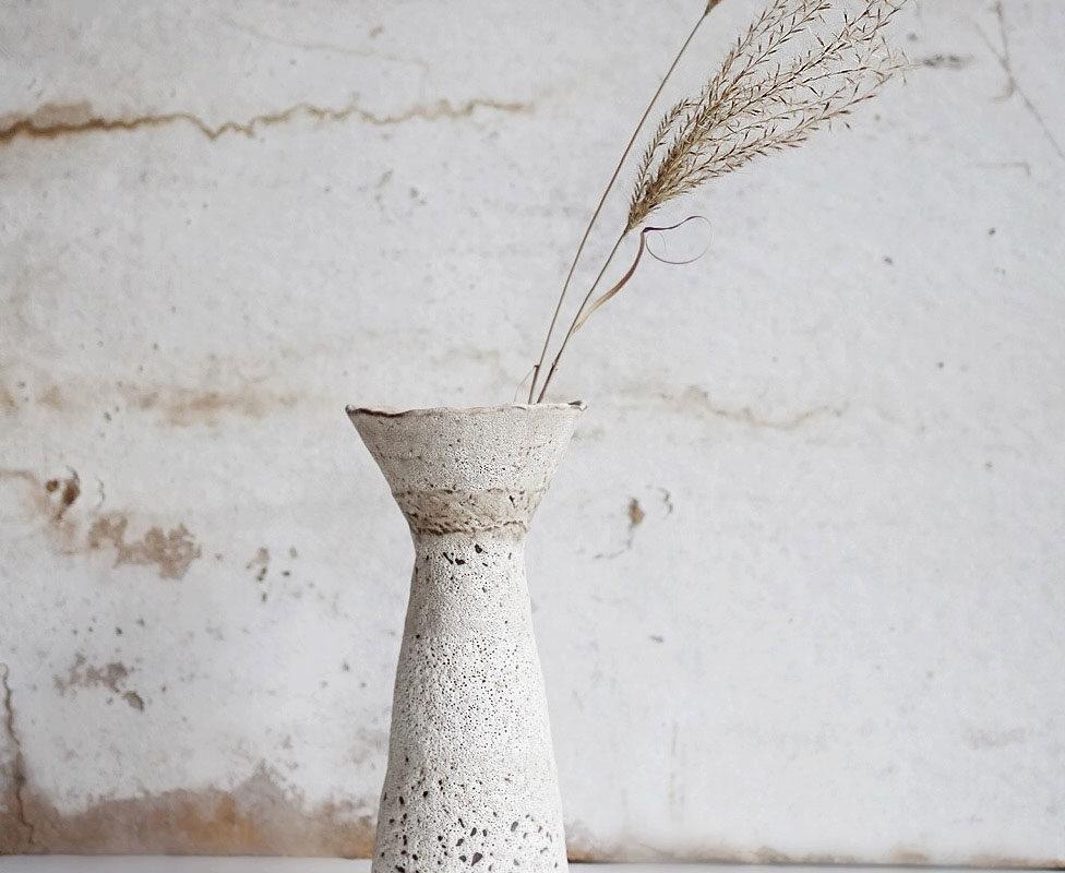 Pillar Vase, Ayame Ceramics