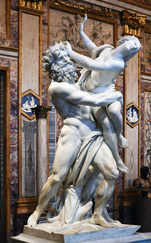 Gian Lorenze Bernini Rape of Prosperina, 1621