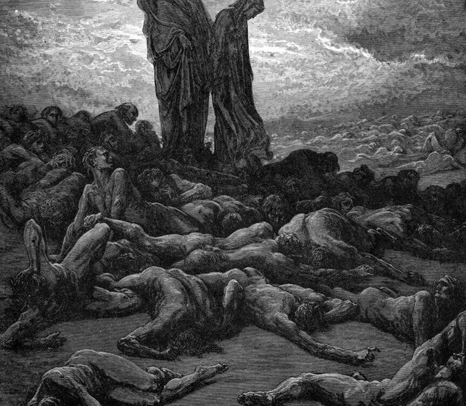 Gustave Dore,The Divine Comedy, 1857
