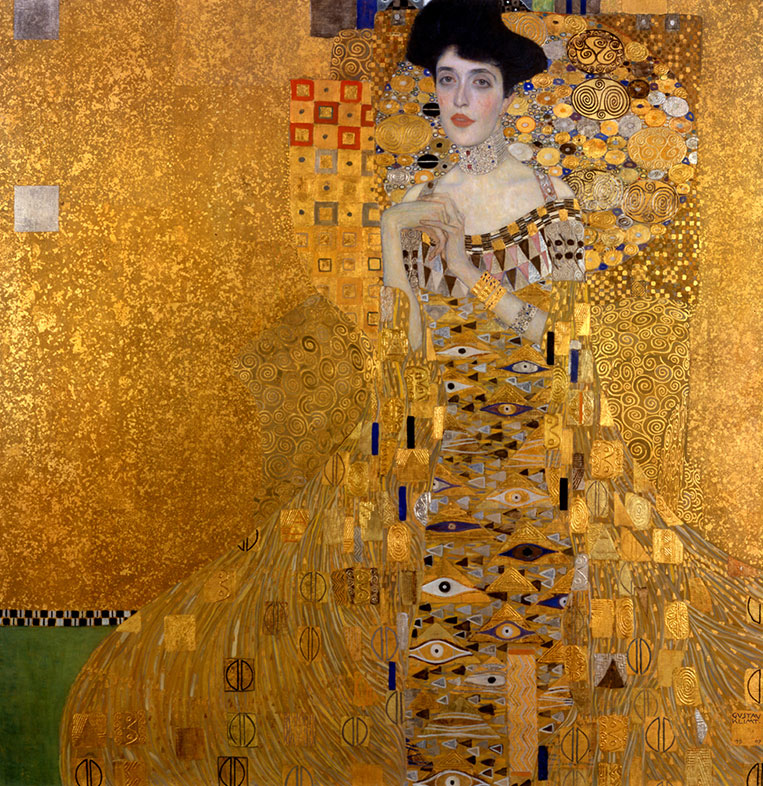 Gustav Klimt, Portrait of Adele Bloch Bauer I, 1907