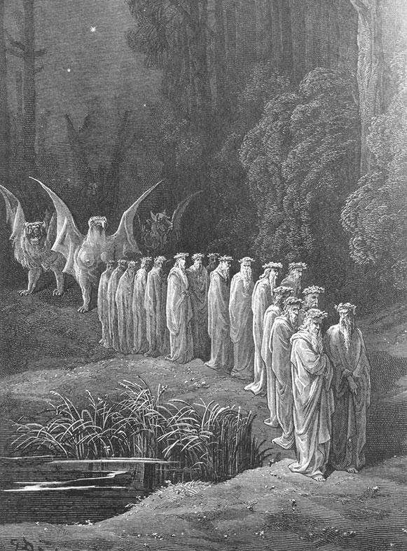 Gustave Dore, Purgatorio,1868