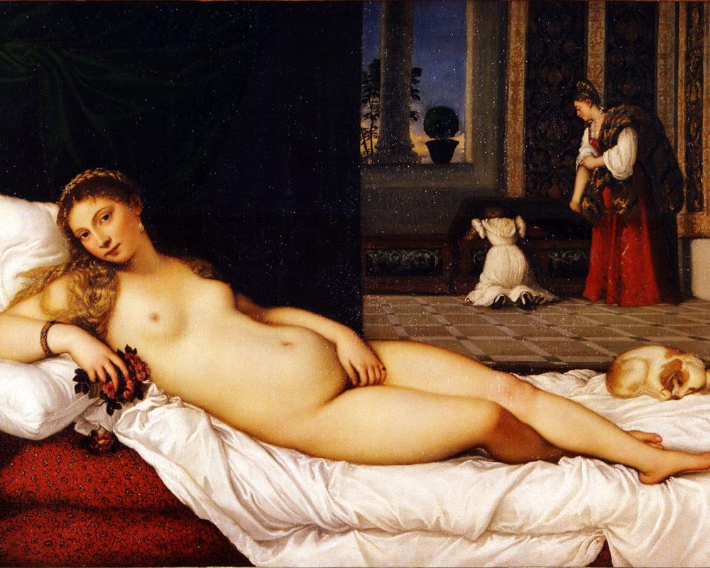 Titian, Venus of Urbino,1538