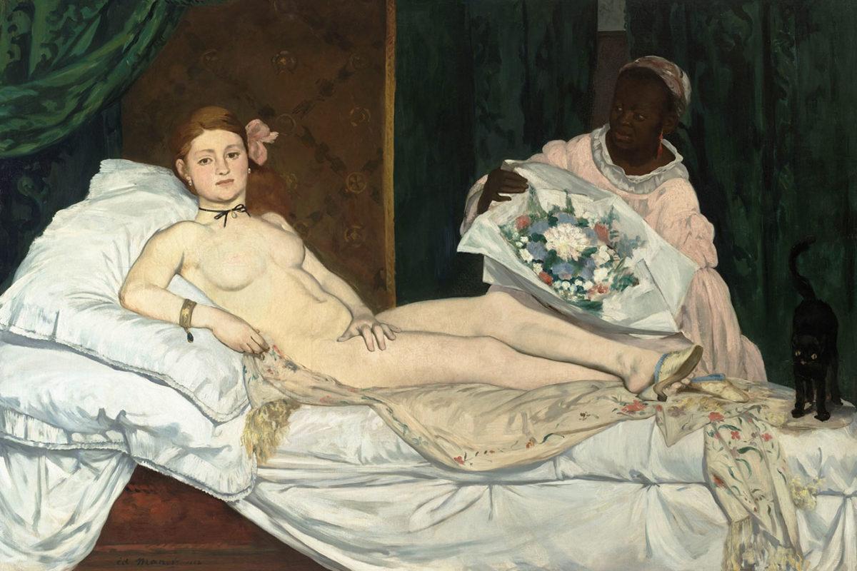 Edouard Manet, Olympia,1863