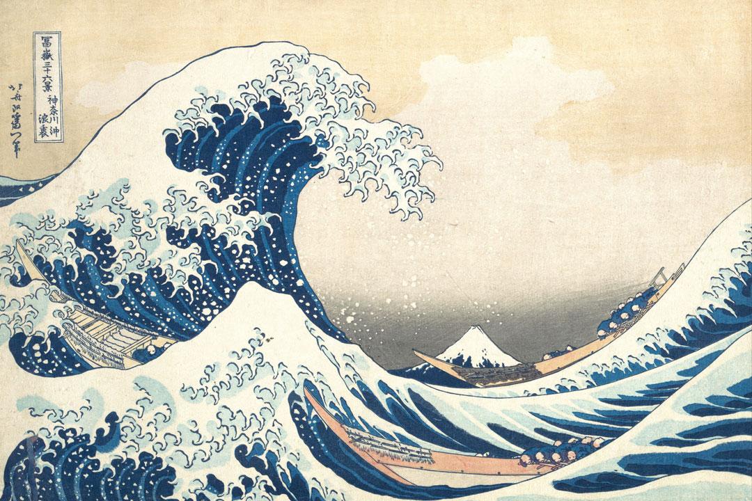 Katsushika Hokusai, The Great Wave off Kanagawa, 19th-century