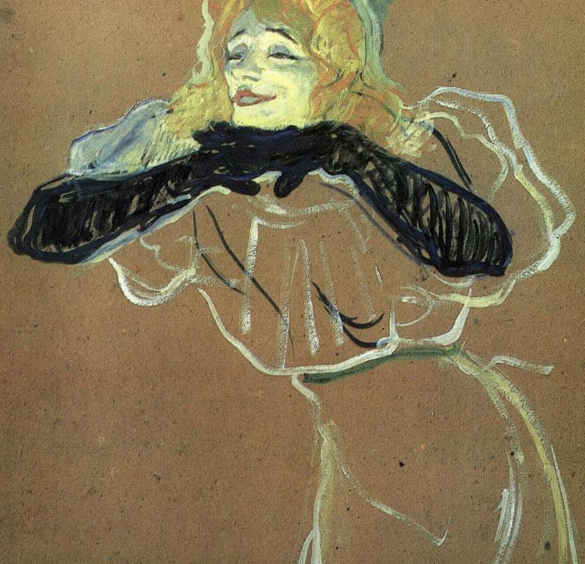 Henri de Toulouse-Lautrec, Yvette Guilbert, 1894